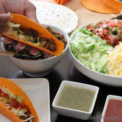 Build your own Taco Bar   Recipes on PocketChangeGourmet.com