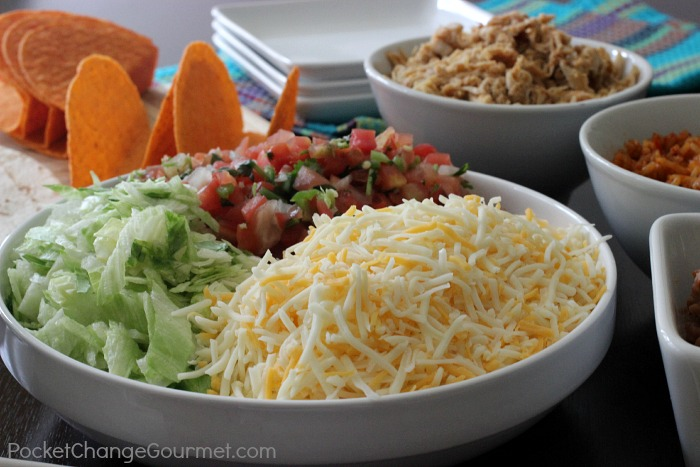 Build your own taco bar recipe pocket change gourmet build your own taco bar recipes on pocketchangegourmet forumfinder Choice Image