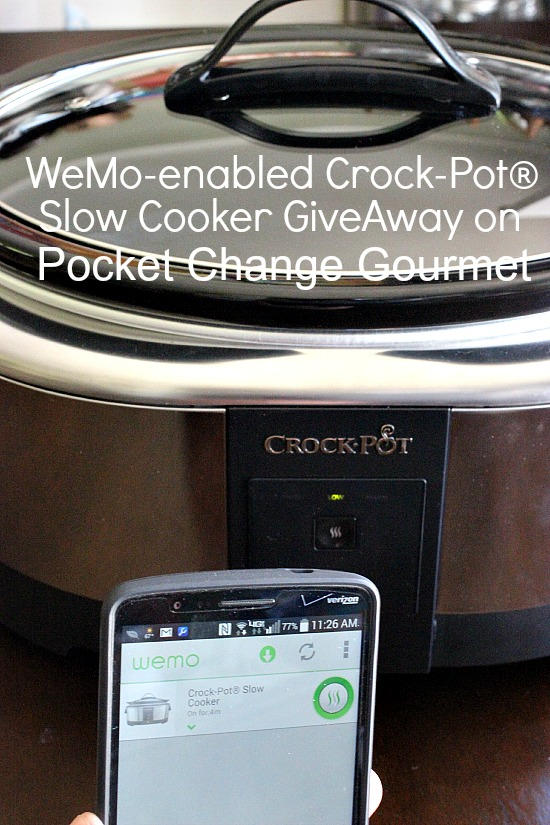 WeMo-enabled Crock-Pot® Slow Cooker GiveAway