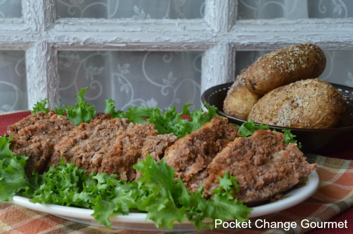 Italian Cheese Stuffed Meatloaf on Pocket Change Gourmet