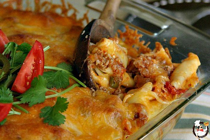 Mexican Mac & Cheese | PocketChangeGourmet.com