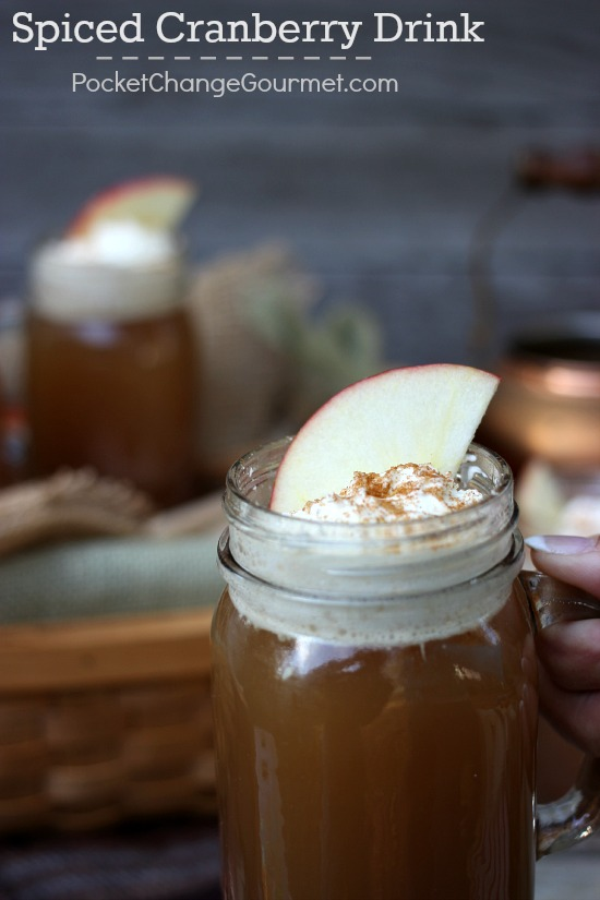 A perfect drink to warm you up during a chilly Fall night of Tailgating, Hayride or just sitting by the bonfire. Apple Cider, Cranberry Sauce and Pineapple Juice plus seasonings made this delicious drink a hit.