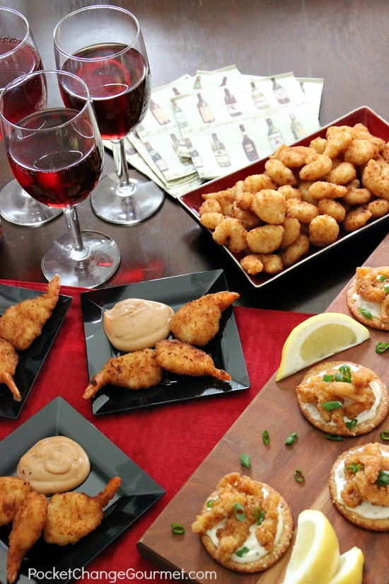 Enjoy your holiday party but don't spend all your time preparing for it! These Easy Appetizer Ideas are delicious and don't break the bank! Pin to your Holiday Board!