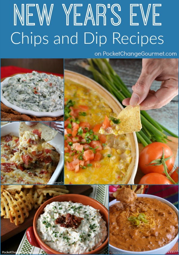 Chips and Dips Recipes for New Year's Eve and Parties