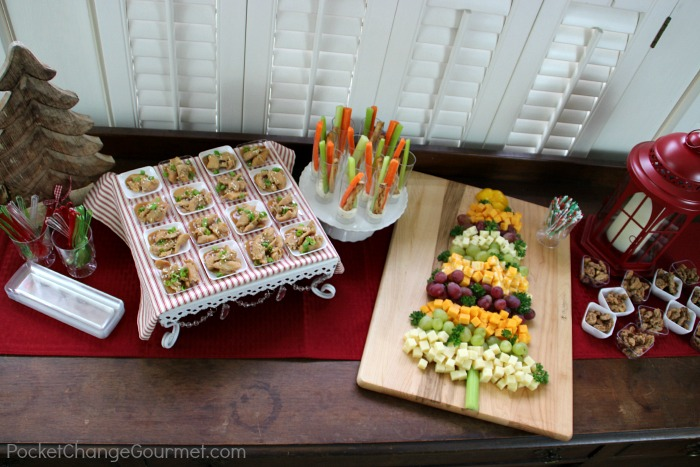 Easy Holiday Appetizer Bar