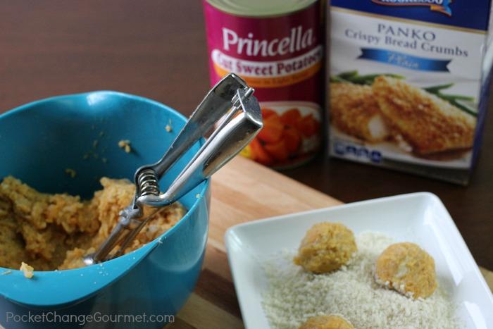 Sweet Potato Cauliflower Fritter Recipe