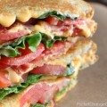 Bacon Lettuce and Tomato Grilled Cheese