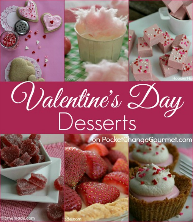 Valentine's Day Dessert Recipes - Treat your sweetie to a delicious dessert! Pin to your Recipe Board!