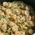 Shrimp Scampi with Linquine
