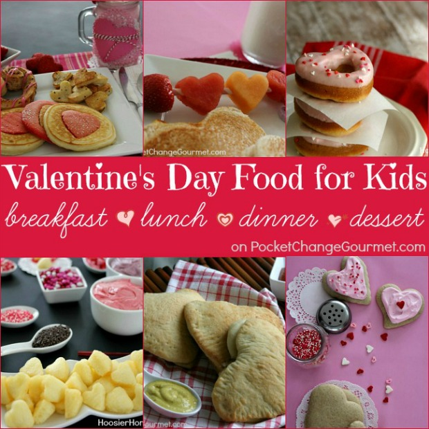 Valentine's Day Recipes for the Kids - Whip up a special meal that the kids will love! Pin to your Recipe Board!