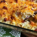 Hashbrown Casserole with Ham