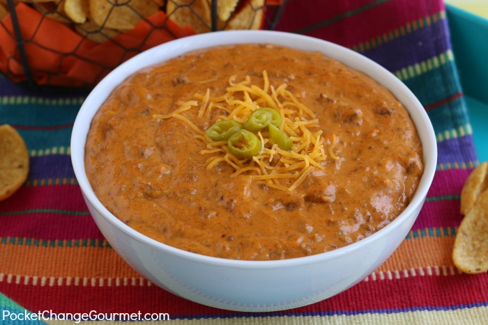 The Best Chili Cheese Dip