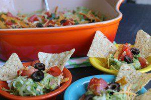 Vegetarian Taco Dip