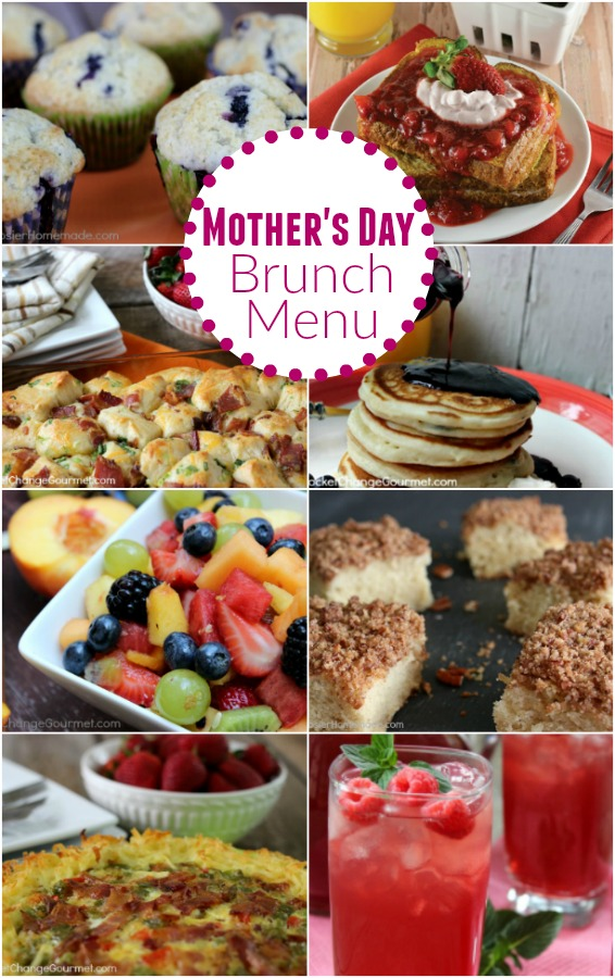 Mothers Day Brunch Menu Pocket Change Gourmet