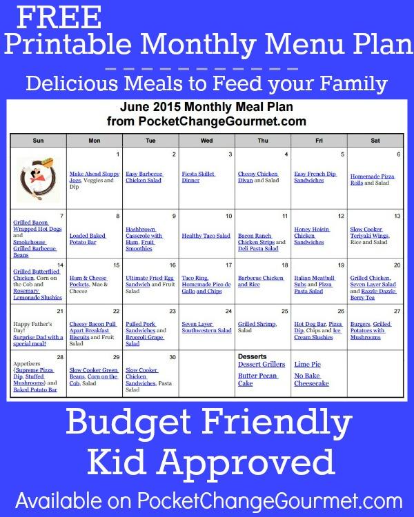 11 Make Ahead Camping Recipes For Easy Meal Planning: June Menu Plan: 2015 Recipe