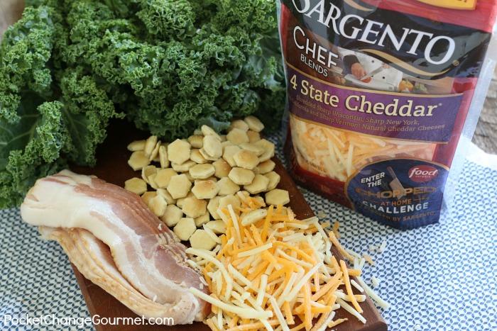 4 Cheddar Garden Burger.ingredients
