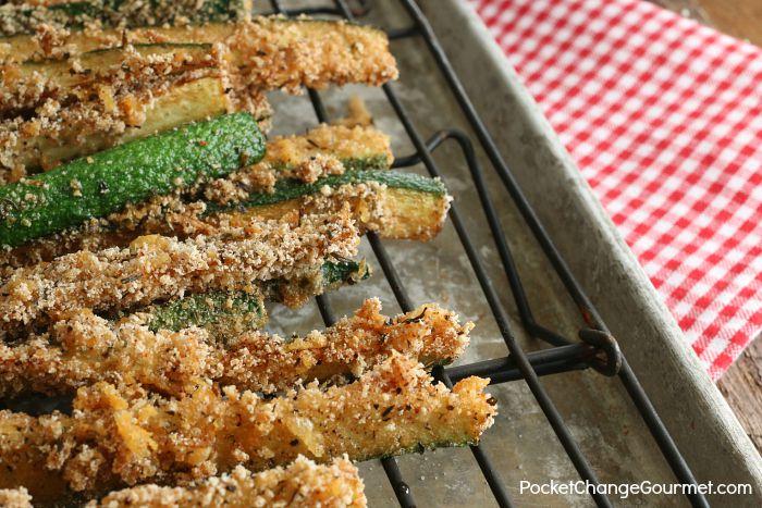 Fried Zucchini Sticks Recipe