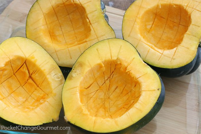 How to Bake Acorn Squash