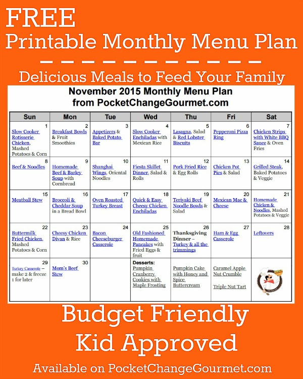 Kid Friendly Budget Family Meals
