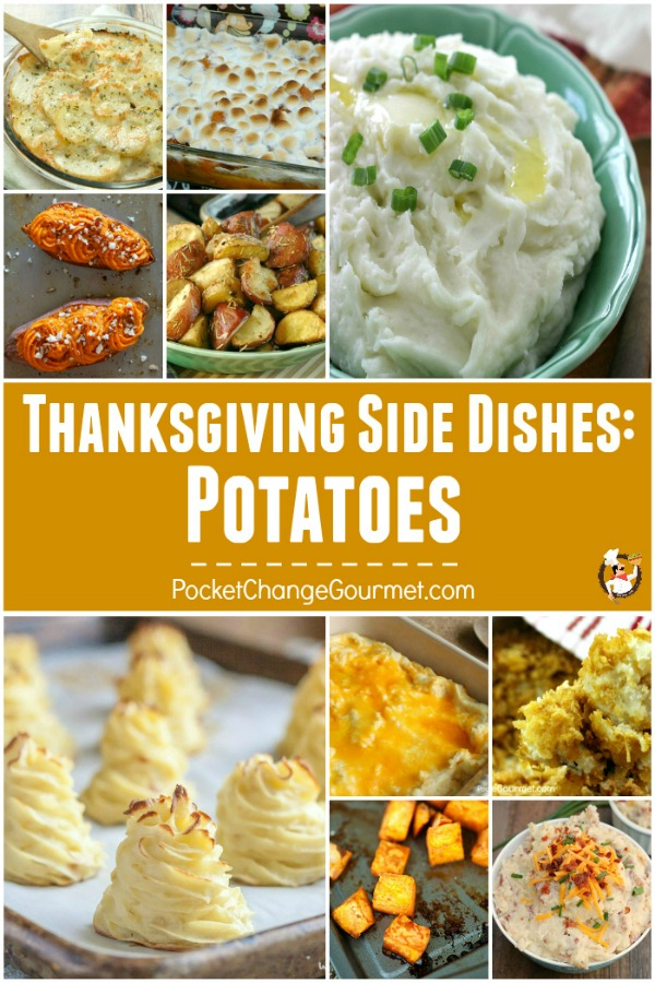 Potatoes - stick to your ribs goodness! From Fluffy Mashed Potatoes to Sweet Potatoes to Hashbrowns - everyone LOVES Potatoes! These Thanksgiving Vegetables Recipes are sure to please everyone!