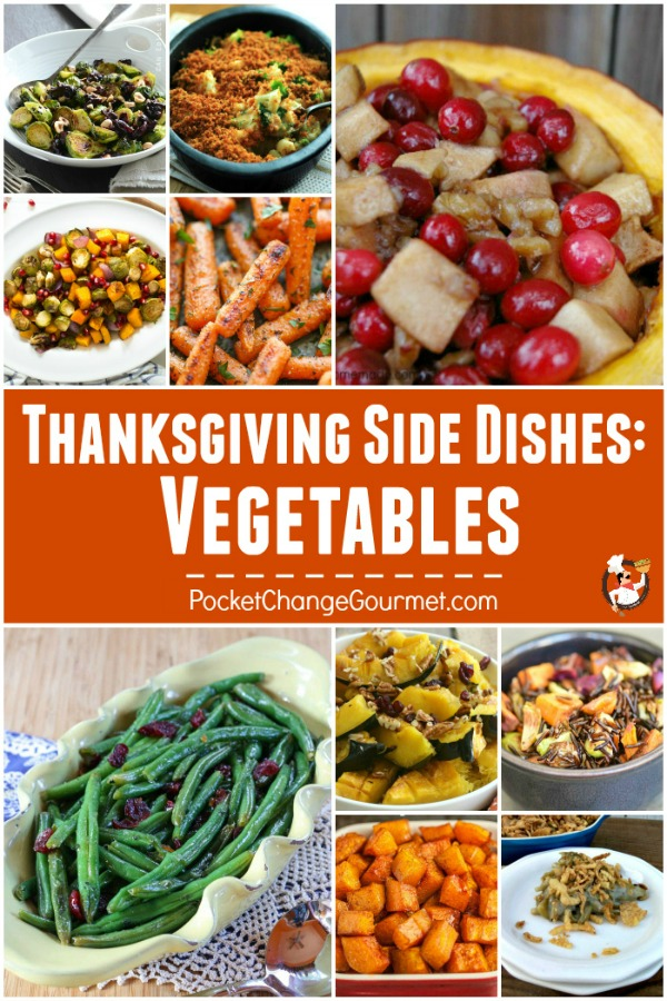 Vegetables - Mom ALWAYS said to eat your Vegetables! Now you can really ENJOY eating them with these delicious Vegetable Recipes! These Thanksgiving Vegetables Recipes are sure to please everyone!