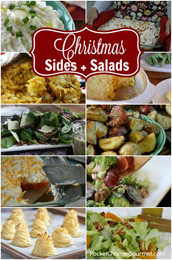 these christmas side dish recipes and salads are sure to be a shine on your holiday