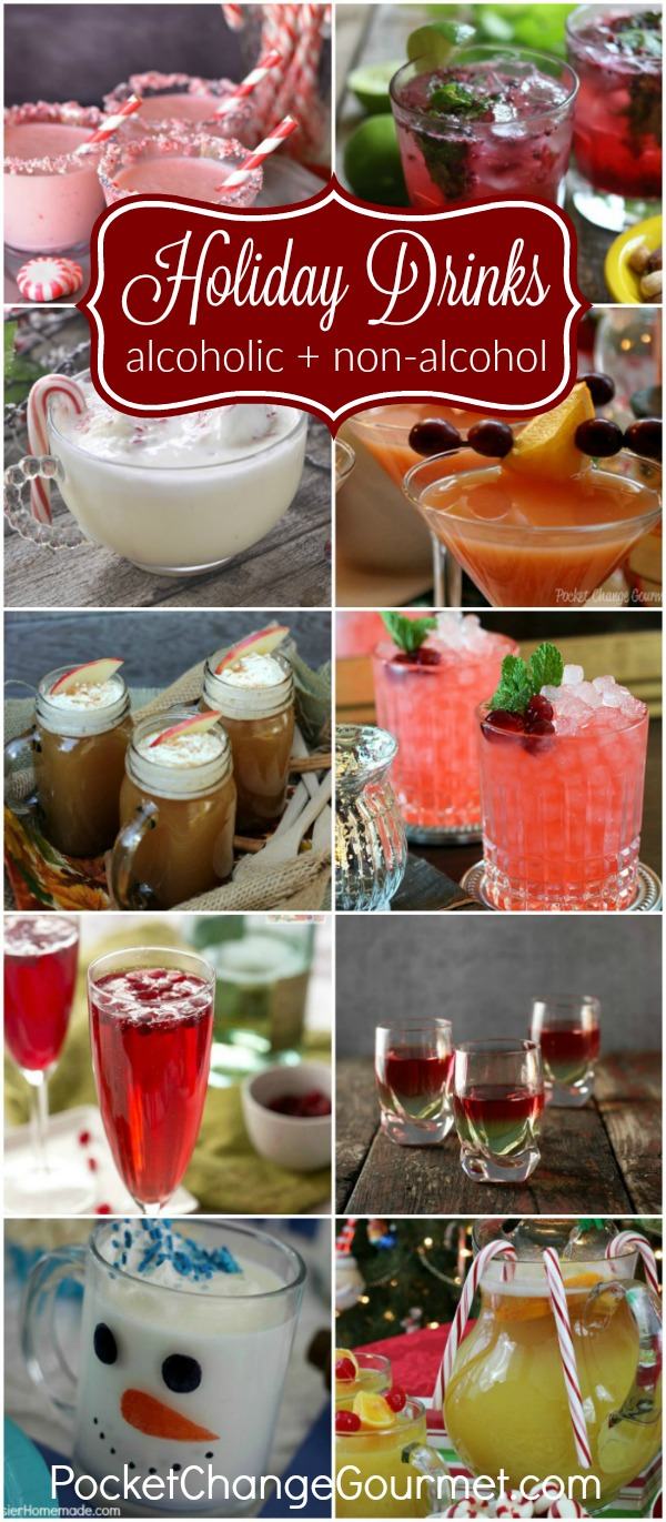 Festive Holiday Drinks for Christmas and New Year\'s Eve Recipe ...