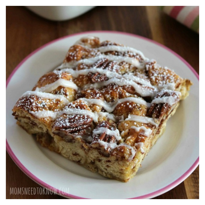 Cinnamon French Toast Bake from Moms Need to Know