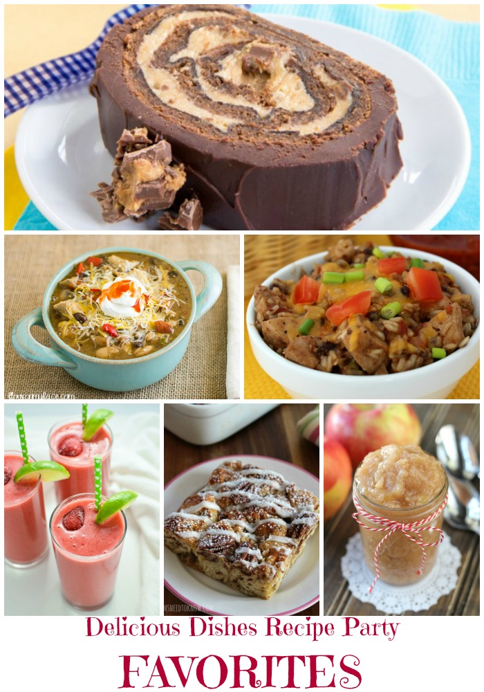 Here are the Host Favorite Recipes and the Most Clicked Recipes from our Delicious Dishes Recipe Party #2.