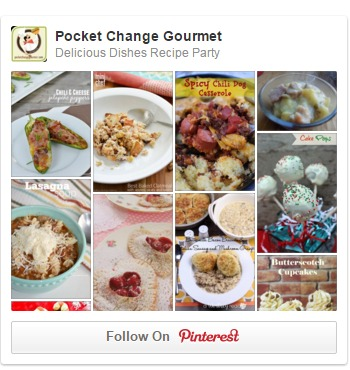 Come follow our Delicious Dishes Recipe Party board on Pinterest!