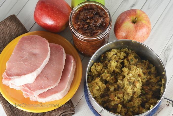 3 Ingredients for Pork Chop Dinner