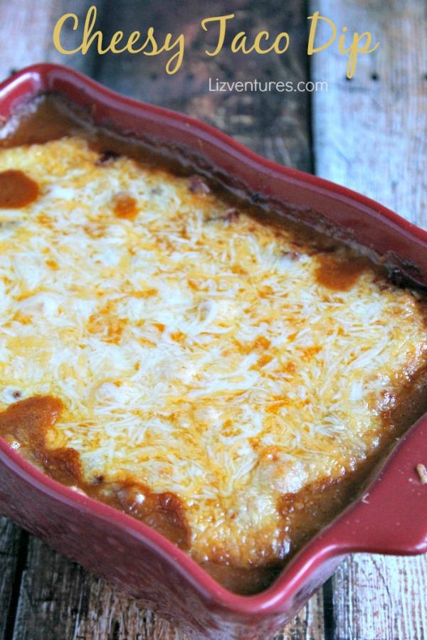 Cheesy Taco Dip from Liz Ventures