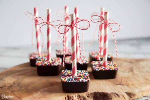 DIY Hot Chocolate on a Stick from Simply Designing