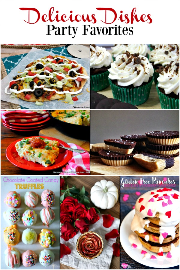 Here are the Party Favorites from Delicious Dishes Party #7.