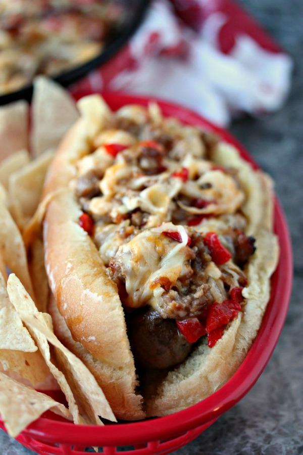 Johnsonville-Sausage-Fundido-Dogs