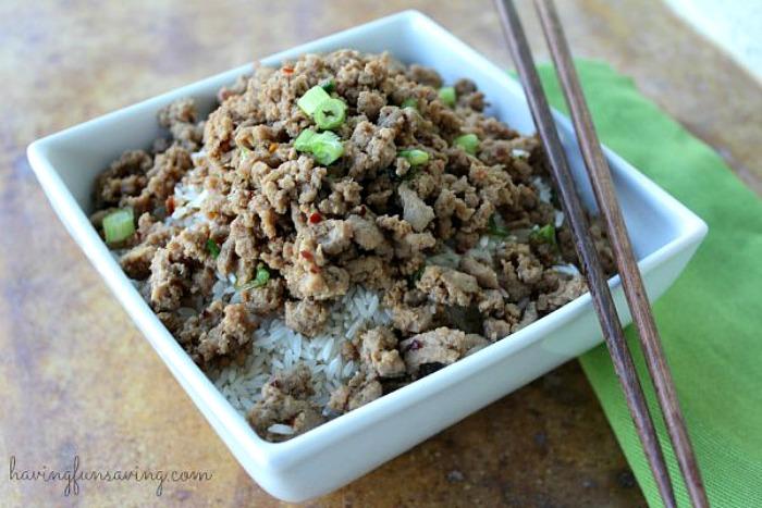 Korean Beef Recipe by Having Fun Saving and Cooking.