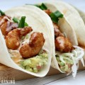 Sweet and Spicy Guacamole Shrimp Tacos from ABC Creative Learning
