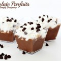Chocolate Parfaits from Simply Designing