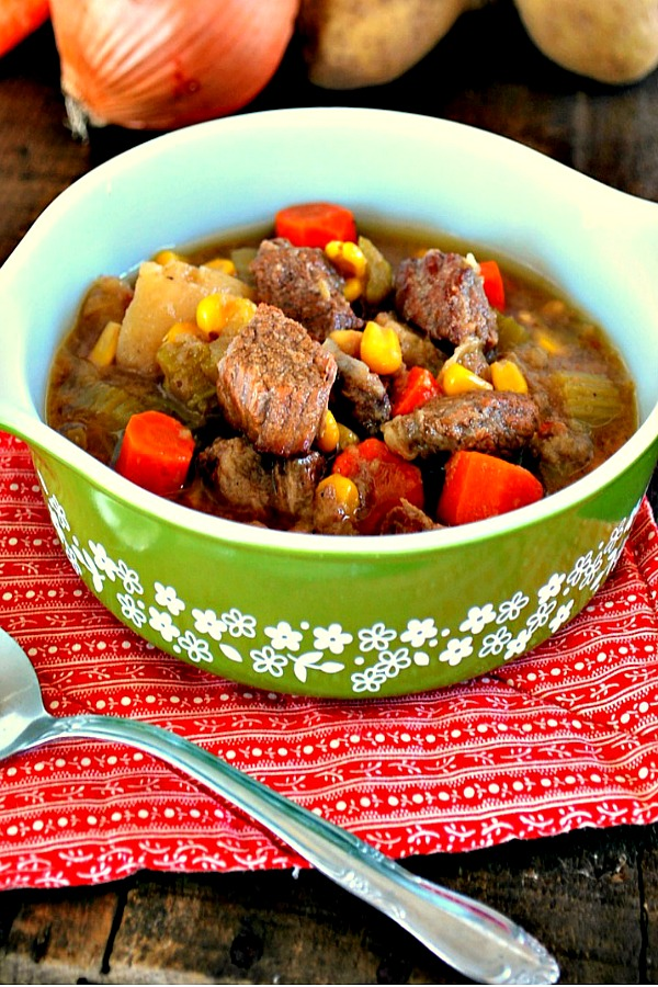 Crock Pot Soup from Domestically Speaking.