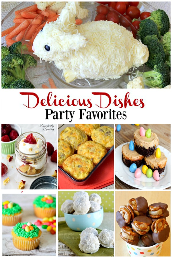 Here are the Party Favorites from Delicious Dishes Recipe Party #11