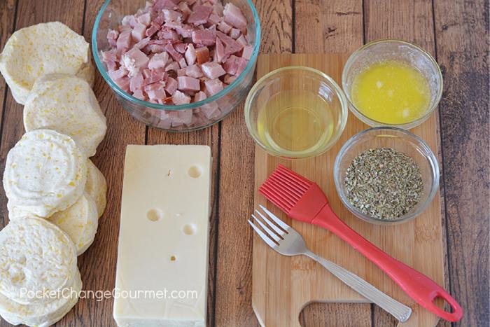 Ham and Cheese Pocket Simple Ingredients