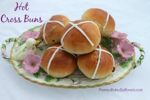 Hot Cross Buns from Premeditated Leftovers