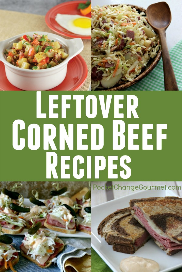 Got leftover Corned Beef? No worries! I have 8 AMAZING Leftover Corned Beef Recipes to stretch your budget and please your family!