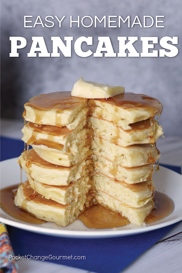 Easy homemade pancake recipe recipe pocket change gourmet this easy homemade pancake recipe is light and fluffy the best pancake you will ever ccuart Gallery