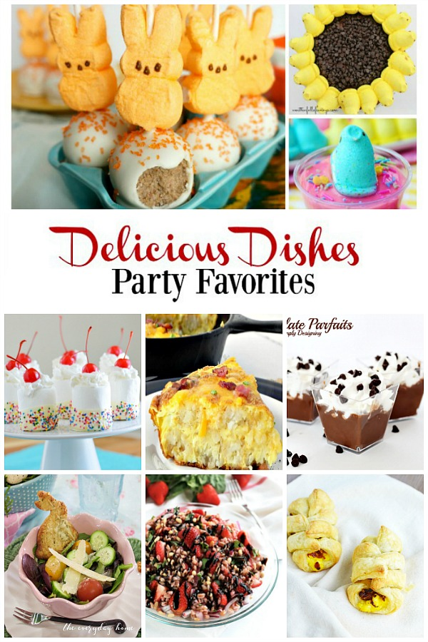 Party Favorites from Delicious Dishes Recipe Party #12.
