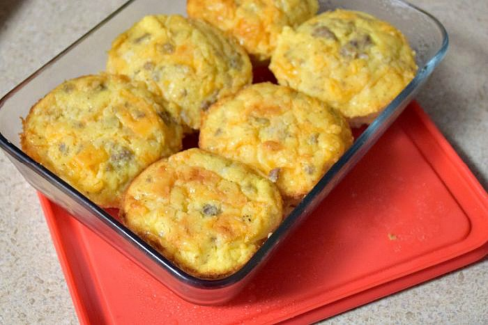 Sausage Egg Muffins from A Proverbs 31 Wife