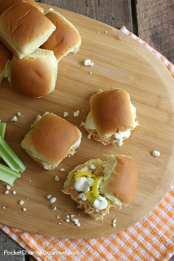Buffalo Chicken Sandwich Recipe Recipe Pocket Change Gourmet