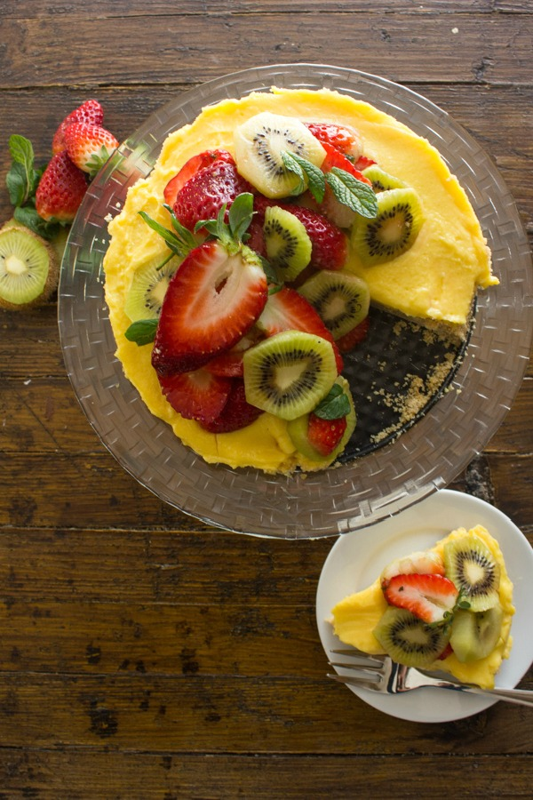 Fresh Fruit Tart from An Italian in My Kitchen