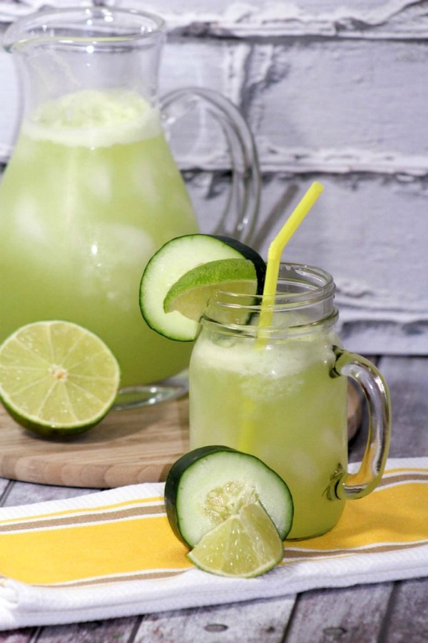 Lime Water Summer Drinks Recipes from Our Family World.