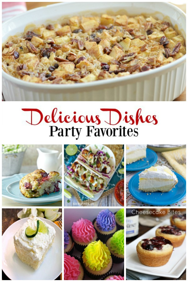 Party Favorites from Delicious Dishes Recipe Party #13